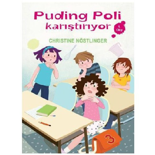 Puding Poli Karıştırıyor - Christine Nöstlinger
