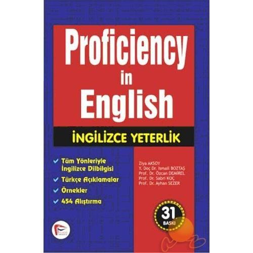 Proficiency In English - İngilizce Yeterlik