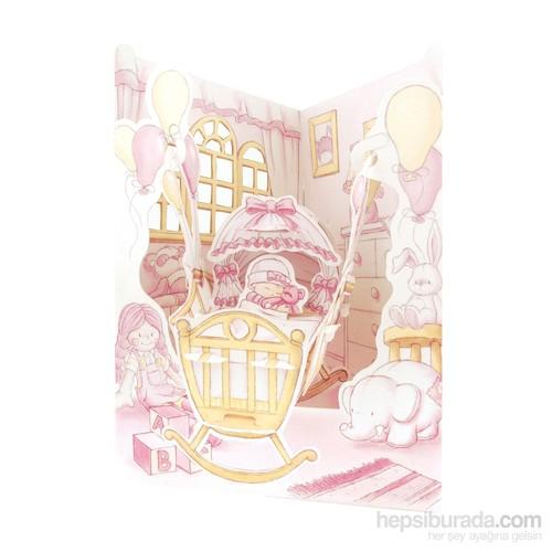 Santoro Gc- Swıng Cards- Baby Gırl Santorosc103