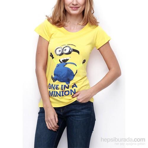 Köstebek Minion Kadın T-Shirt