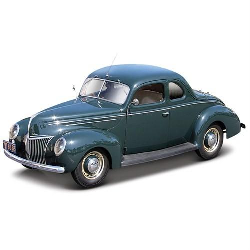 Maisto Ford Deluxe Tudor 1939 Model Araba 1:18 Special Edition Yeşil