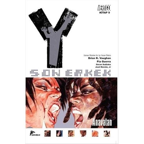 Y: Son Erkek 9 - Anavatan Türkçe Çizgi Roman