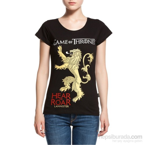Köstebek Game Of Thrones - Lannisters Kadın T-Shirt