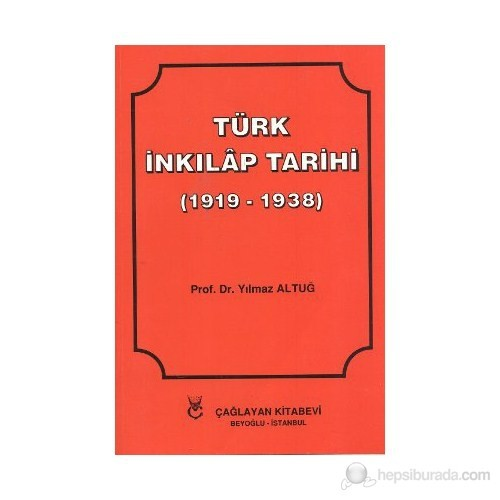 Türk İnkılap Tarihi-Yılmaz Altuğ