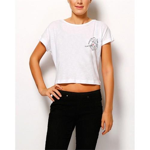 Köstebek Heart And You Byt065 Kadın T-Shirt
