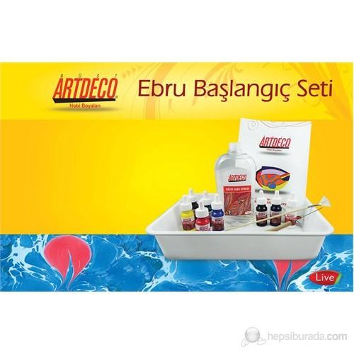 Artdeco Ebru Başlangıç Seti 8 Renk