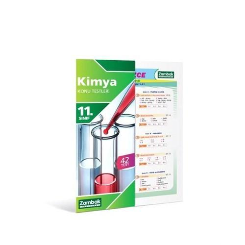 Zambak Yayınları 11.Sınıf Kimya Konu Testi (Yaprak Test)
