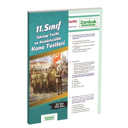 Zambak Yayınları 11.Sınıf İnkılap Tarihi Konu Testi (Yaprak Test)