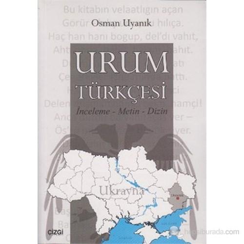 Urum Türkçesi (İnceleme - Metin - Dizin )