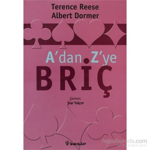 A'Dan Z'Ye Briç-Terence Reese
