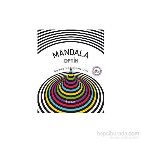 Mandala Optik Buyukler Icin Boyama Kitabi Kolektif Fiyati