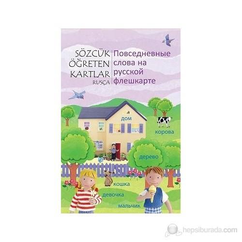 Sözcük Öğreten kartlar - Rusça