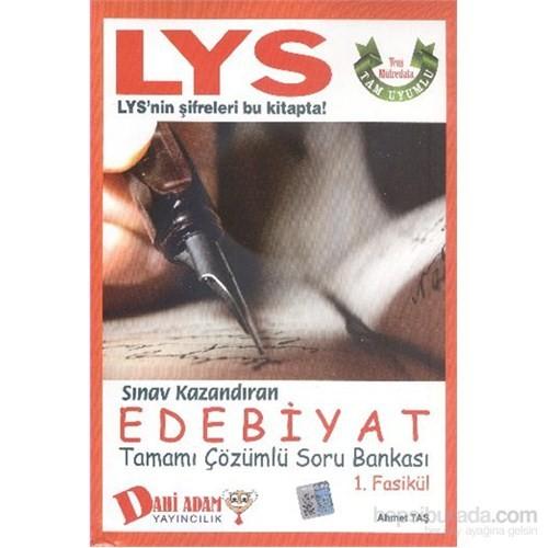 Dahi Adam LYS Sınav Kazandıran Edebiyat Soru Bankası-1. Fasikül