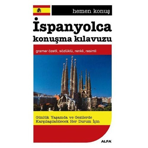 Hemen Konus İspanyolca Konuşma Kılavuzu