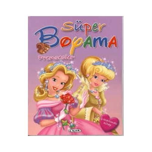 Süper Boyama D.- Prensesler
