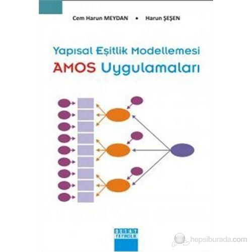 Yapısal Eşitlik Modellemesi - AMOS Uygulamaları - Cem Harun Meydan