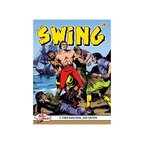 Özel Seri Swing Sayı: 24 Devlet Sırrı - Denizden Gelen Adam - İntikam