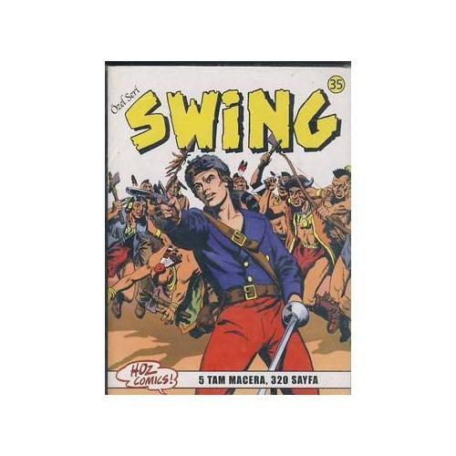 Özel Seri Swing Sayı: 35 Kara Büyücü - Üroni İsyan - Washington'un Emirleri - Şeytani Tuzak - Kabil'in Öcü