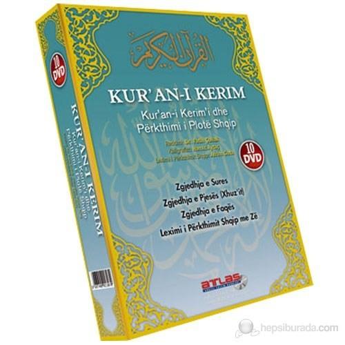 Kur'an-ı Kerim Hatim Seti Arnavutça