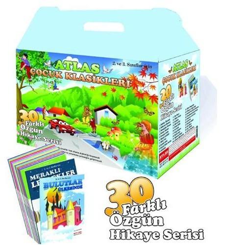 Atlas Özgün Hikaye Serisi Çocuk Kitapları Seti (30 Kitap)