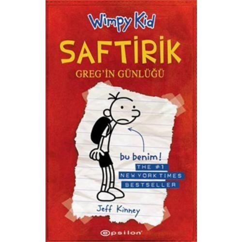 """Saftirik Greg'in Günlüğü 1 - """"Bir Kitapta Sen Getir Yardım Kampanyası"""""""