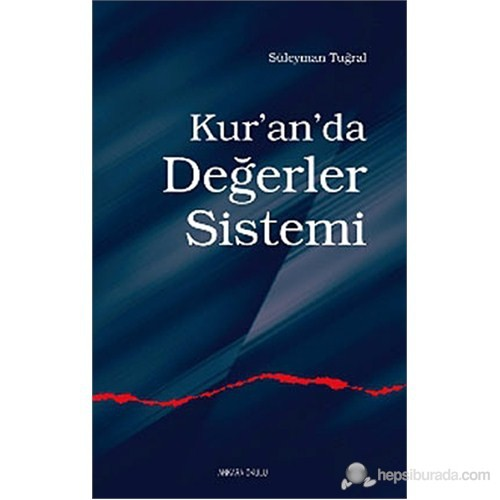 Kur'An'Da Değerler Sistemi-Süleyman Tuğral