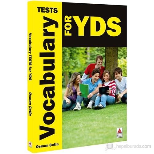 Vocabulary Tests For YDS - Osman Çetin