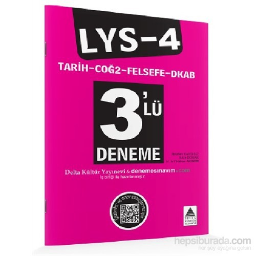Lys-4 Tarih–Coğrafya-2–Felsefe Grubu–Din Kültürü Ve Ahlak Bilgisi 3'Lü Deneme-Komisyon