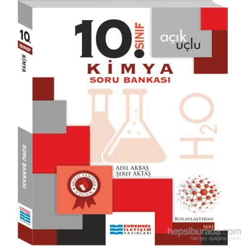 10.Sınıf Kimya Soru Bankası-Şeref Aktaş