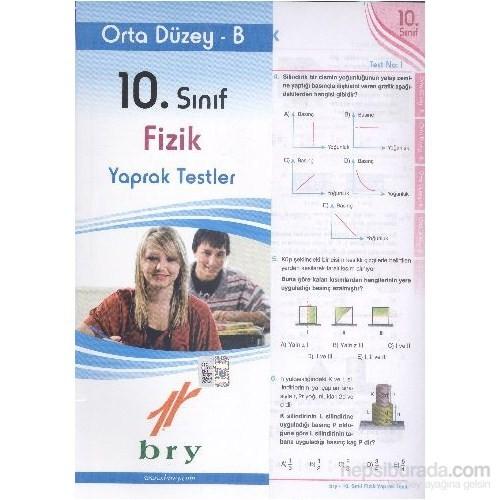 Birey 10. Sınıf Fizik Yaprak Testler Orta Düzey B-Kolektif