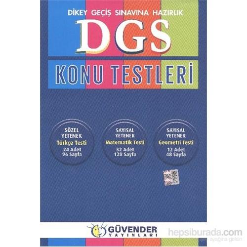 Güvender Dgs Konu Testleri-Kolektif