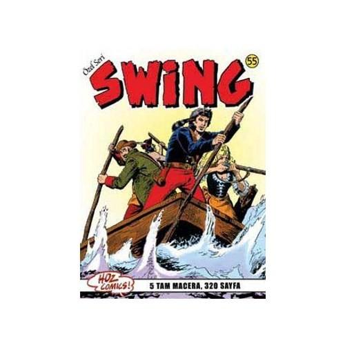 Özel Seri Swing Sayı: 55 Ölüm Tüccarı - Hayalet Kemancı - İntikamcı - Darbe - Kırmızı Çıngıraklı Yılan - Esse Gesse
