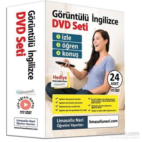 Limasollu Naci Görüntülü İngilizce DVD Seti Premium + Hediye 12 Ay Online İngilizce Kursu