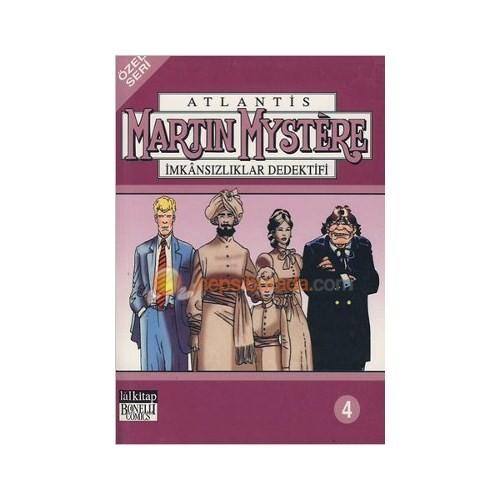 Atlantis (Özel Seri) Cilt: 4 Martin Mystere İmkansızlıklar Dedektifi