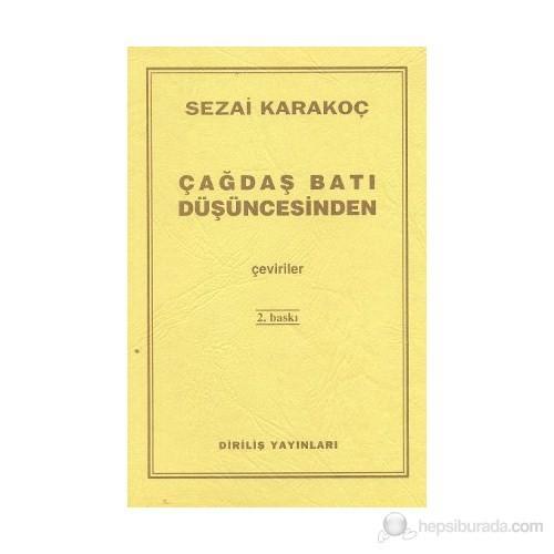 Çağdaş Batı Düşüncesinden Çeviriler-Sezai Karakoç