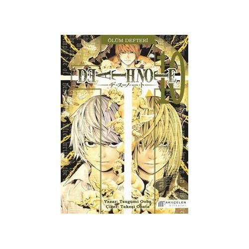 Death Note 10 / Ölüm Defteri 10 - Tsugumi Ooba