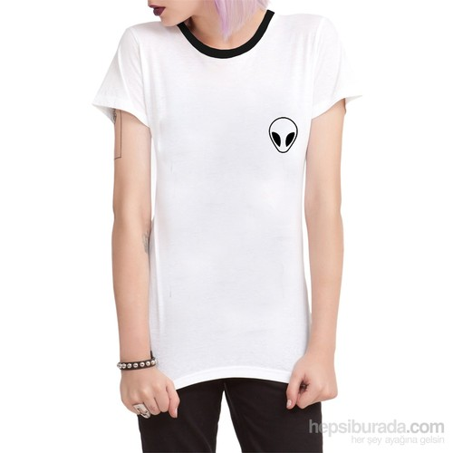 Köstebek Alien Kadın T-Shirt