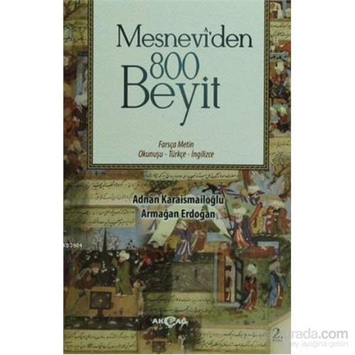Mesnevi'den 800 Beyit Farsça Metin Okunuşu - Türkçe-İngilizce
