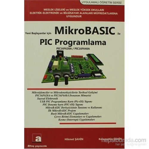 Yeni Başlayanlar İçin Mikrobasic ile PIC Programlama