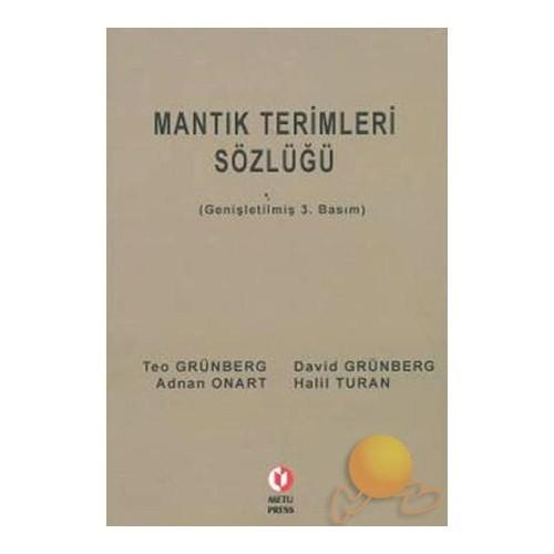 MANTIK TERİMLERİ SÖZLÜĞÜ
