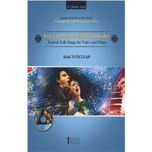 Şan İçin Piyano Eşlikli Türklüler (CD'li)