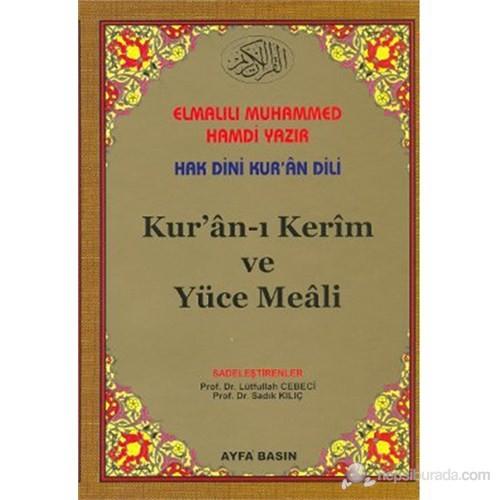 Kur'an-ı Kerim ve Yüce Meali (Rahle Boy -2 Renkli - Kelime Meali - Kod: 027)