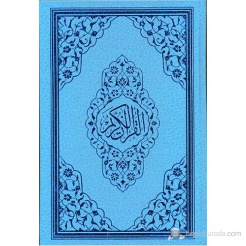 Kur'an-ı Kerim (Orta Boy - Mavi - Kod: 123M)