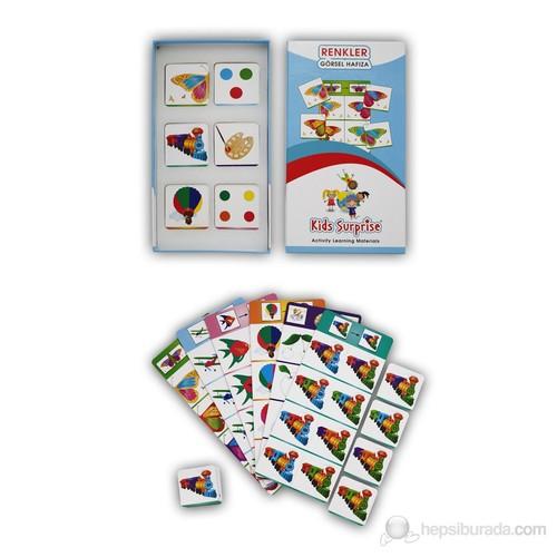 Renkler - Görsel Hafıza (Kids Surprise)