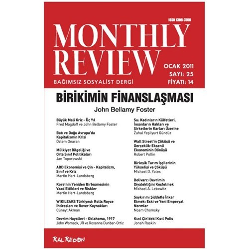 Monthly Review 25. Sayı Ocak 2010