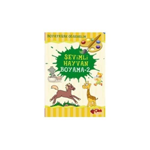 Sevimli Hayvan Boyama -2