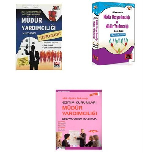 Meb Eğitim Kurumları Müdür Yardımcılığı Konu Seti (3 Kitap)