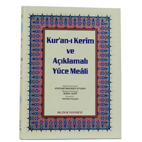 Cami Boy Kur'an-ı Kerim ve Açıklmalı Yüce Meali
