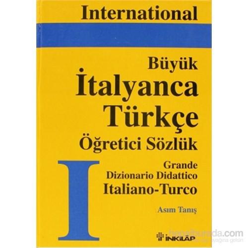 Büyük İtalyanca-Türkçe Büyük Öğretici Sözlük Cilt: 1 - Asım Tanış