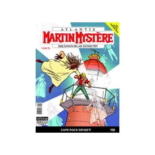 Martin Mystere İmkansızlar Dedektifi Sayı: 119 Cape Rock Dehşeti